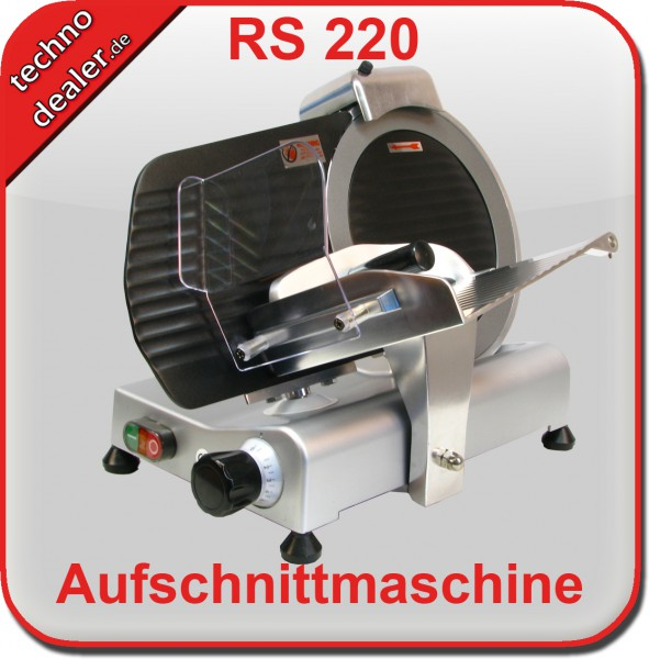 Aufschnittmaschine RS 220 teflon
