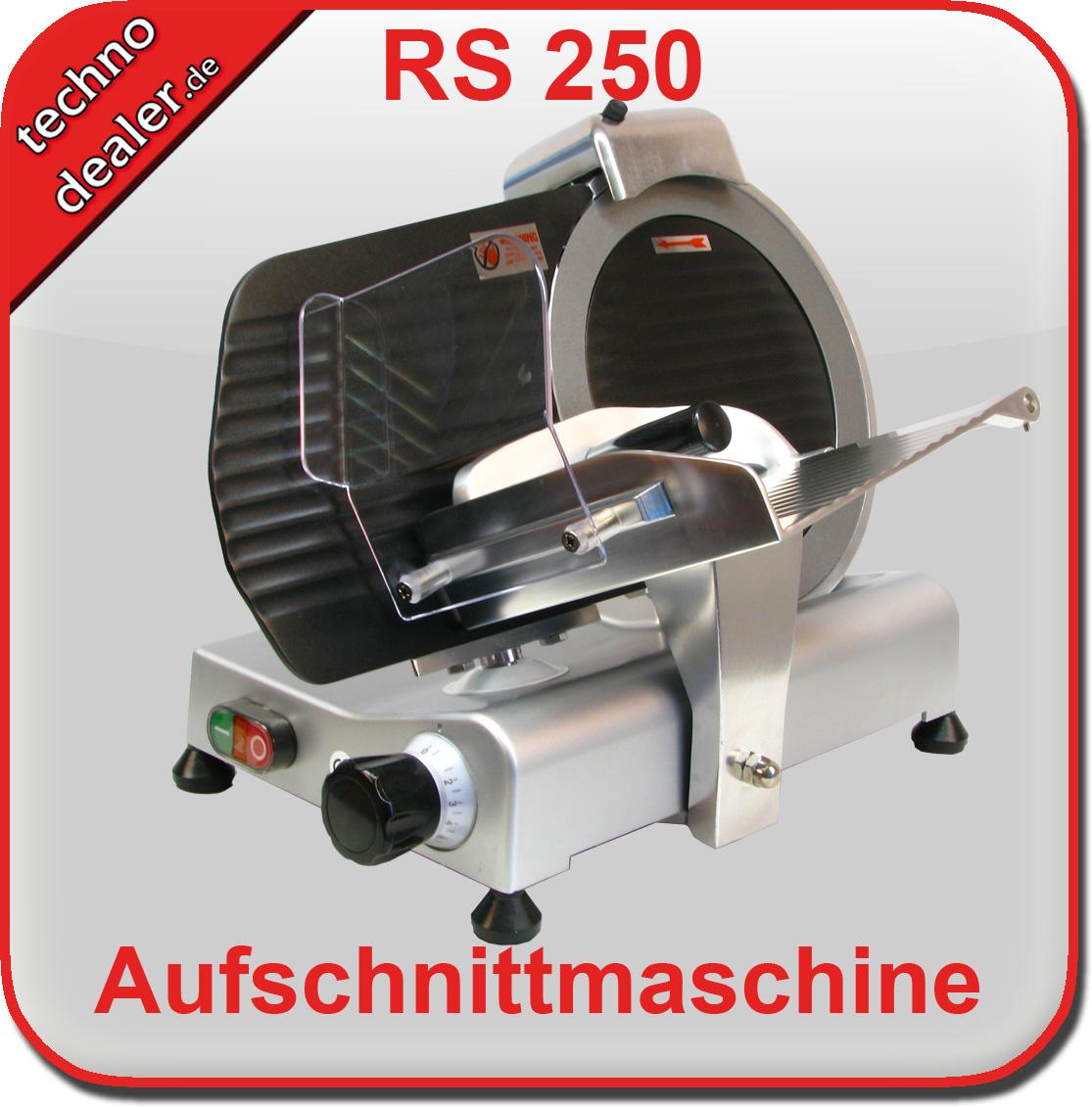 Aufschnittmaschine RS 250 teflon