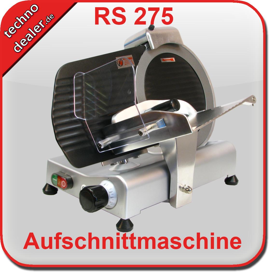 Aufschnittmaschine RS 275 teflon